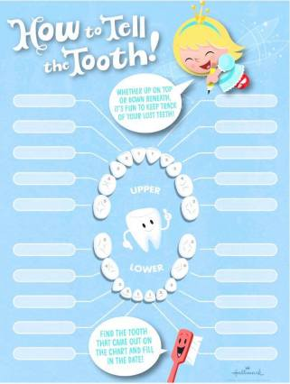 blue tooth chart