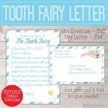 fairy letter