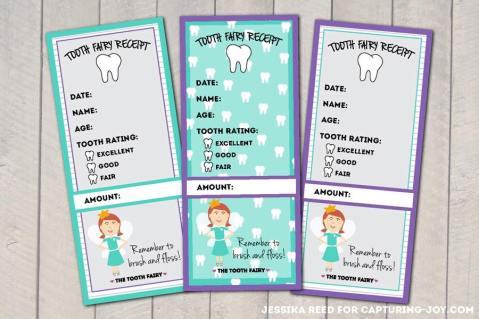 tooth receipt